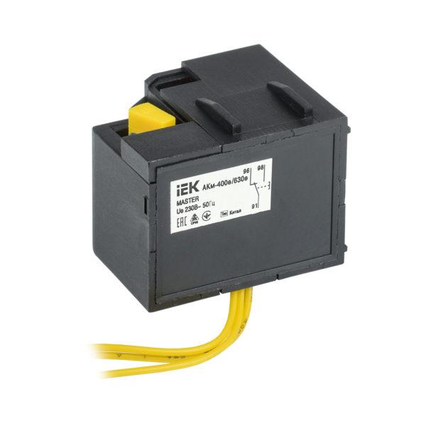 Контакт аварийный АКм-400е/630е (АКм-39) для ВА88-39 MASTER с электронным расцепителем IEK