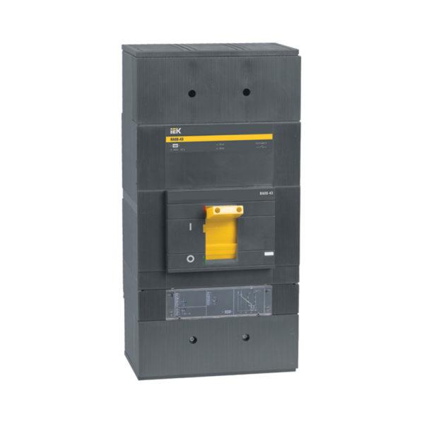 Выключатель автоматический ВА88-43 3Р 1600А 50кА c электронным расцепителем МР 211 IEK