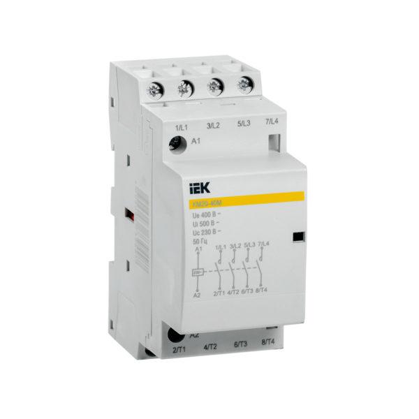 Контактор модульный КМ20-40М AC IEK