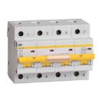 Выключатель автоматический ВА47-100 4Р 16А 10кА С IEK 1