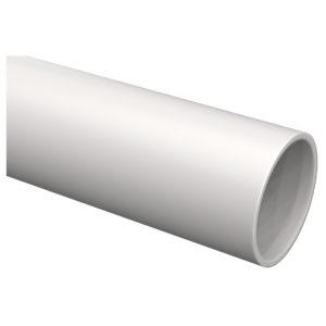 Труба гладкая жесткая ПВХ d=20мм серая (93м) 3м IEK