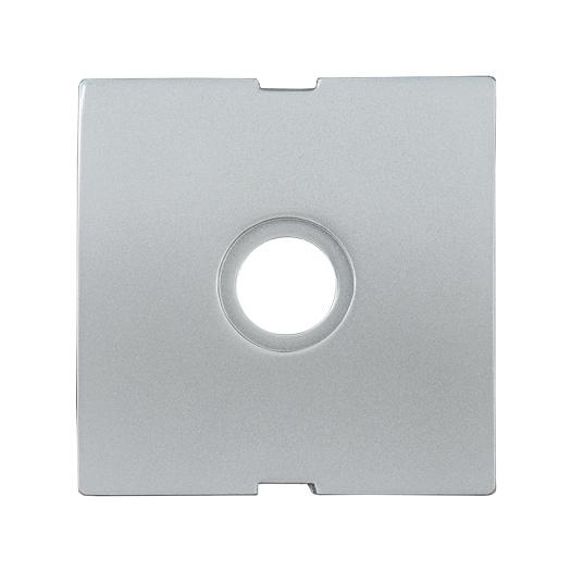 Накладка телевизионная проходная/оконечная НTV-1-БС BOLERO серебряный IEK