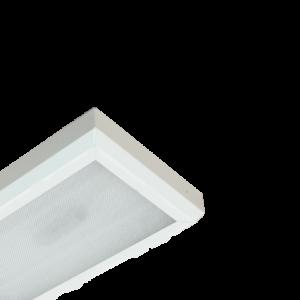 Офисный светильник ЛПО04-2х36-041 PRS RA БАП
