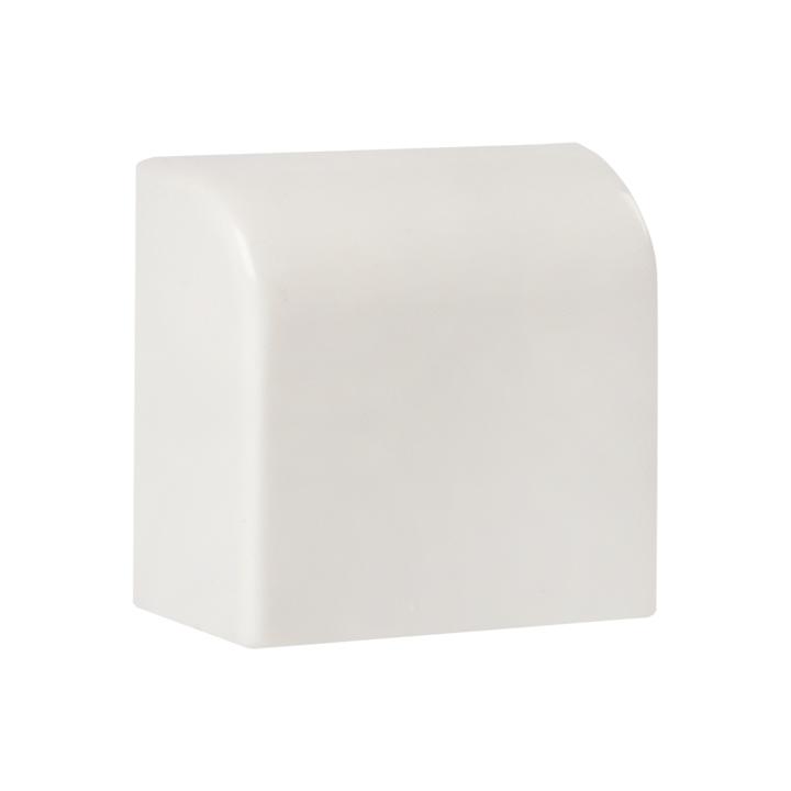 Заглушка (40х16) (4 шт) Plast EKF PROxima Белый