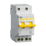 Выключатель-разъединитель трехпозиционный ВРТ-63 2P 25А IEK