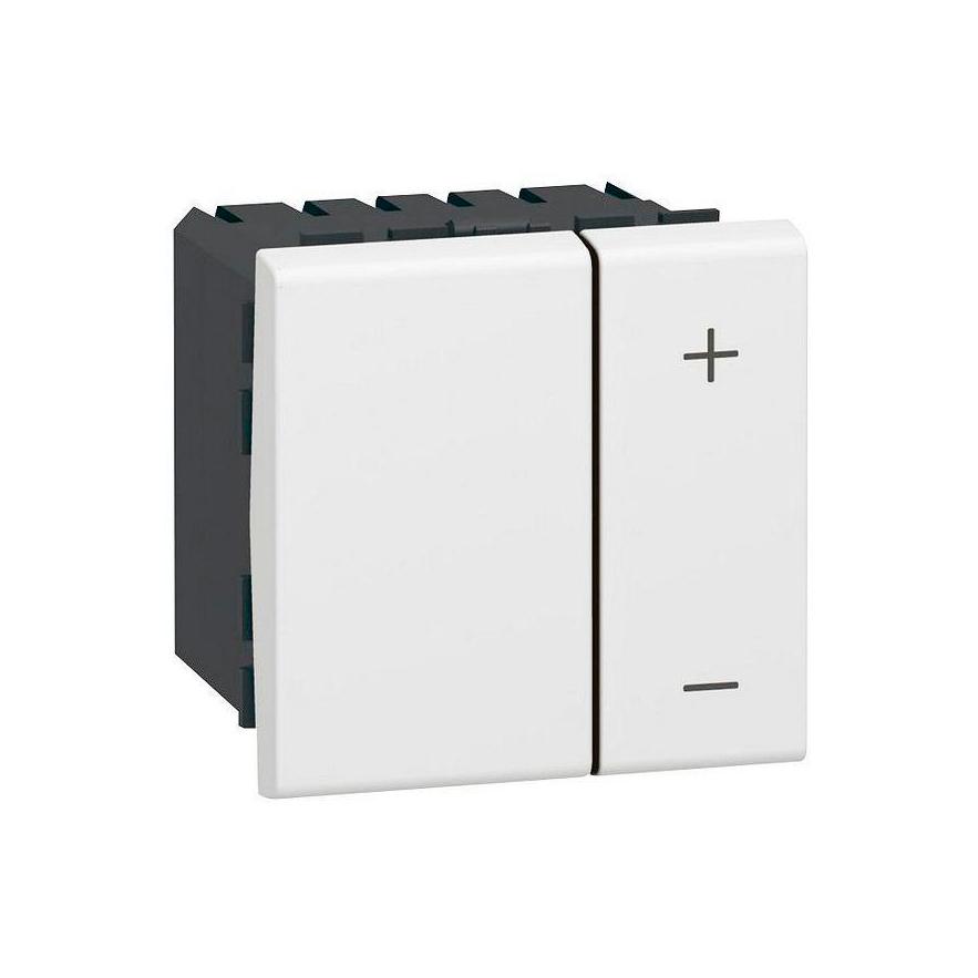 Светорегулятор клавишный Legrand MOSAIC, 1-10 В, 600ВА Mosaic, клавишный, с возможностью управления с 2-х мест