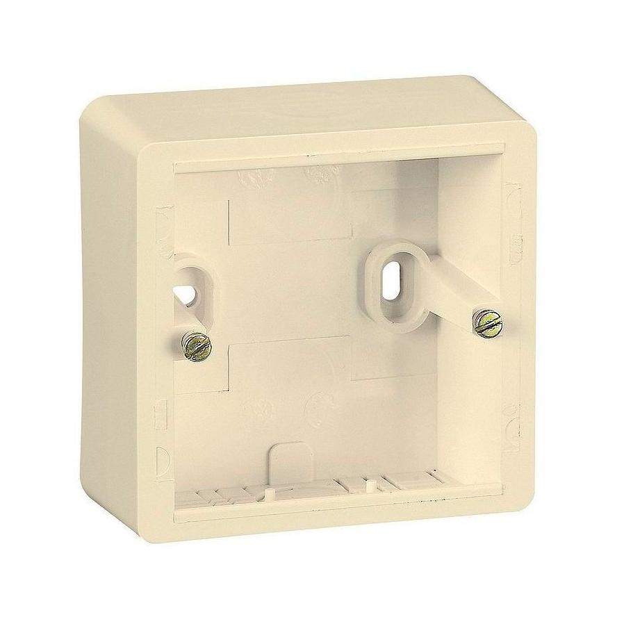 Cariva Коробка накладная, сл. кость