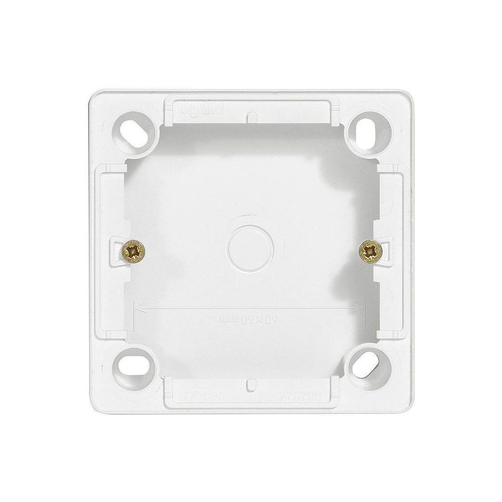 Cariva Коробка для накладного монтажа 26 мм, бел.