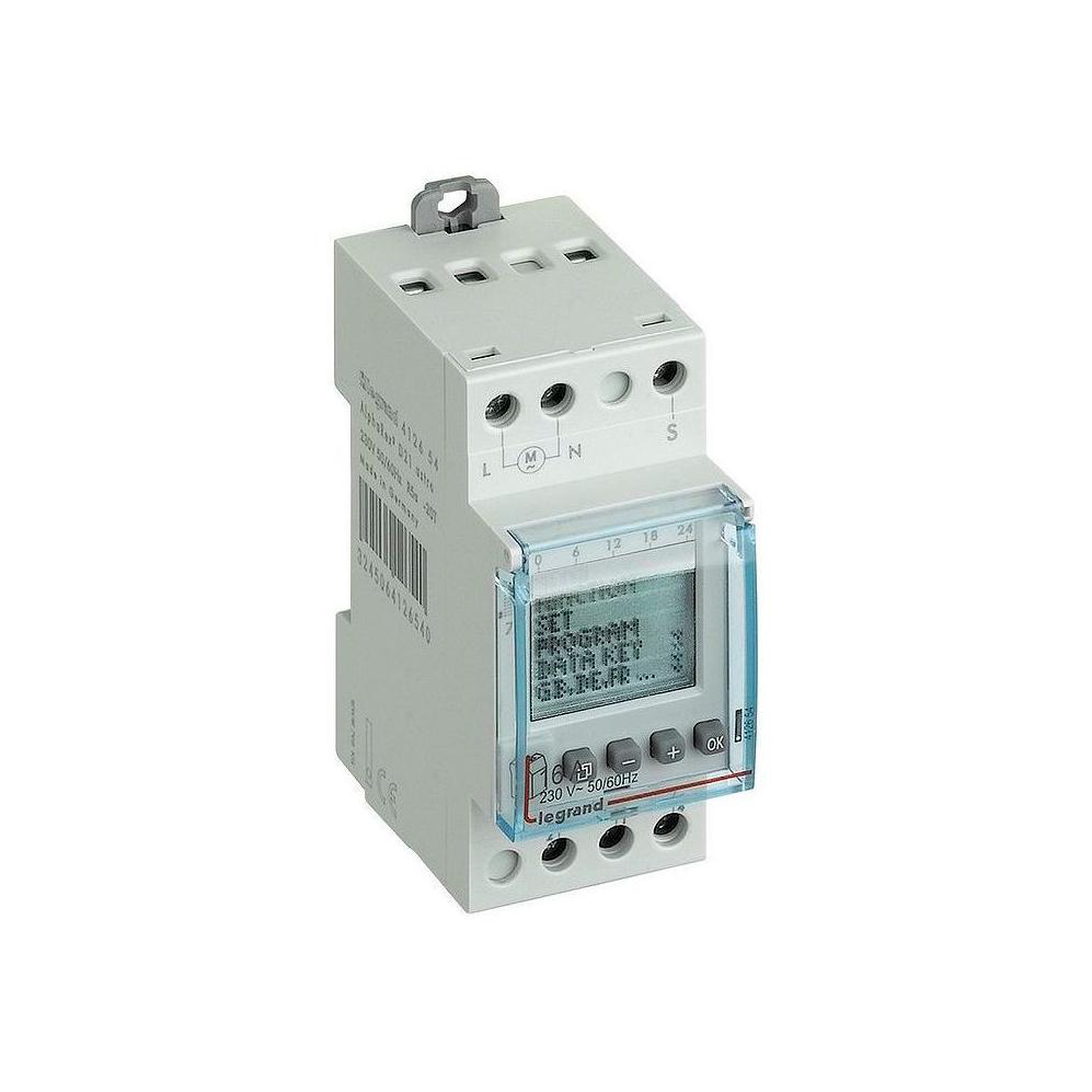 Астрономический таймер - цифровой - 230 В~ - 1 выход - 16 А - 250 В~