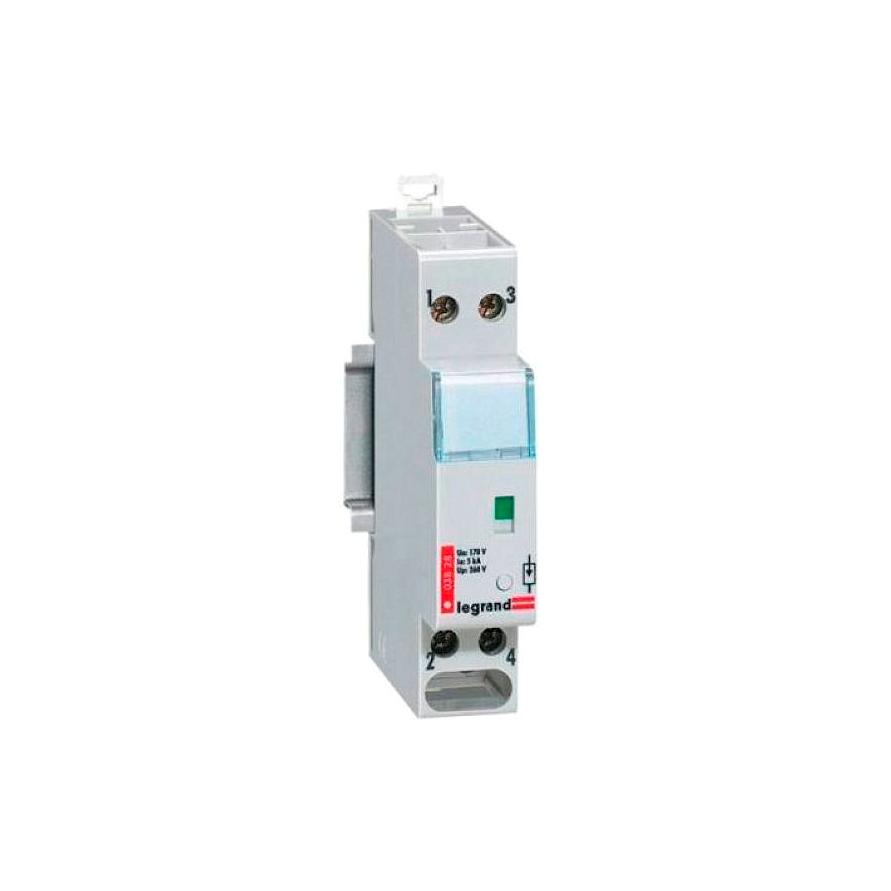 Устройство защиты от импульсных перенапряжений - класс 1+2 - Iimp 8 кА - 1П