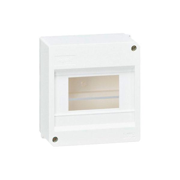 Распределительный шкаф Legrand Mini S, 6 мод., IP30, навесной, пластик, дверь