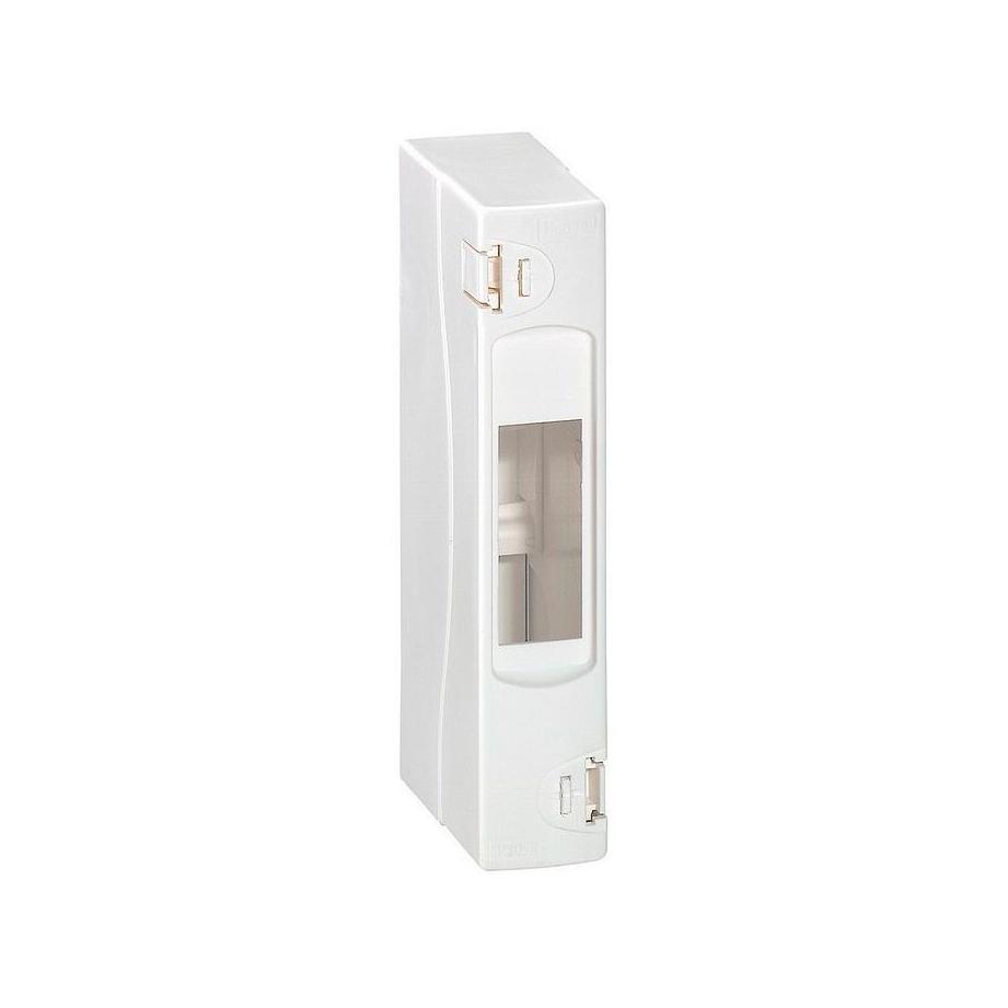 Распределительный шкаф Legrand Mini S, 1 мод., IP30, навесной, пластик, дверь