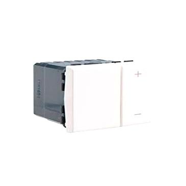 Светорегулятор клавишный Legrand MOSAIC поворотно-нажимной, с возможностью управления с 2-х мест, 600 Вт, белый