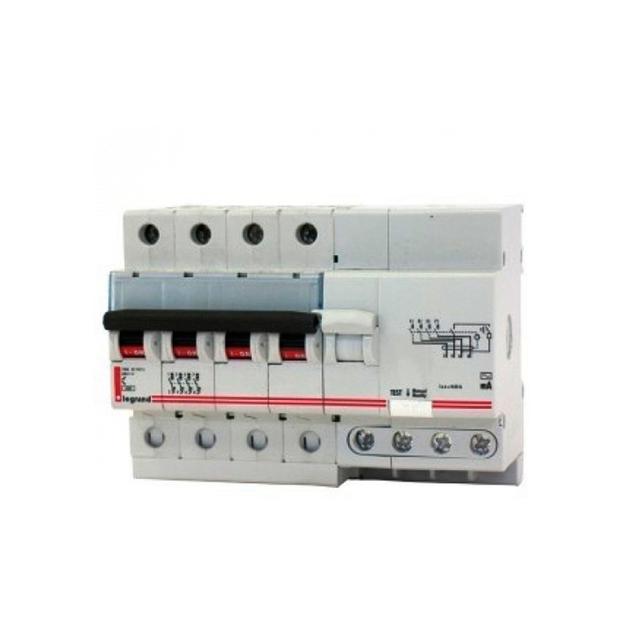 Дифавтомат Legrand DX 4P 63А (C) 6кА 300мА (AC)