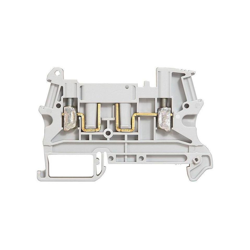 Клемма-размыкатели с винтовым зажимом Legrand Viking 3 2,5 мм², серый, 037180