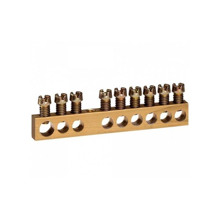 Клеммная колодка - на изолирующих основаниях - 4 x 1,5-16 мм² - длина 47 мм
