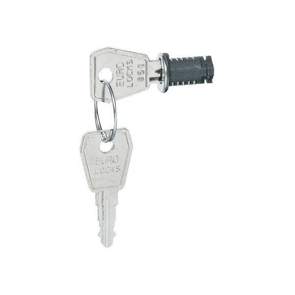 Ключ и замок - N ° 850 - распределительных щитков на 2 или 3 рейки