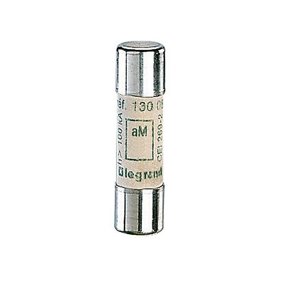 Промышленный цилиндрический предохранитель аМ 10x38 4а 500В без индикатора