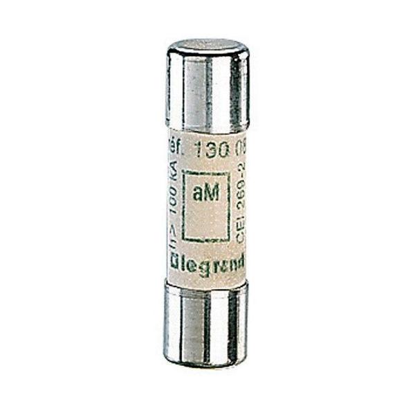 Промышленный цилиндрический предохранитель аМ 10x38 12а 500В без индикатора