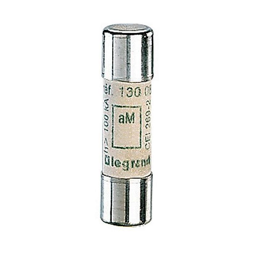 Промышленный цилиндрический предохранитель аМ 10×38 12а 500В без индикатора 1