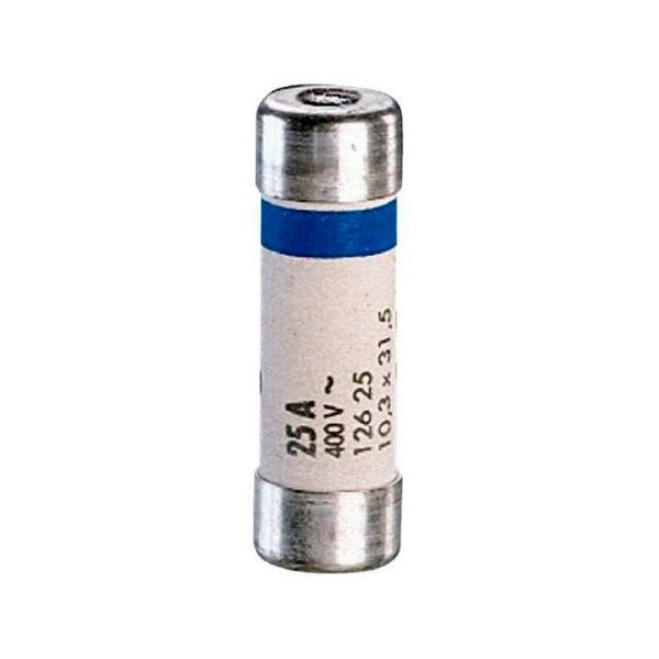 Промышленный цилиндрический предохранитель gG 10х38 12а 500В с индикатором