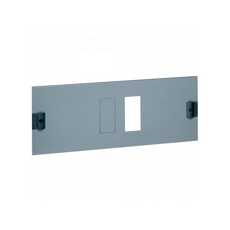 Металлическая лицевая панель XL³ 800//4000 - для 1 DPX 630 с УЗО или без него - гориз. монтаж - высот