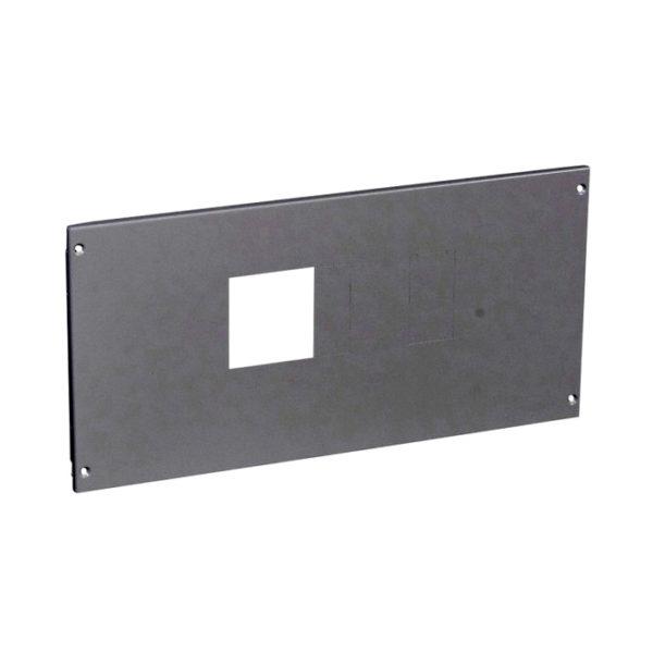 Металлическая лицевая панель XL³ 800//4000 - на винтах - для DPX-IS 630 - высота 300 мм - 24 модуля