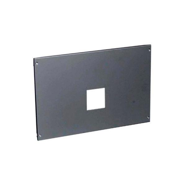Металлическая лицевая панель - XL³ 4000 - с нетеряемыми винтами - для 2 DPX 1600 фикс. исполнения с