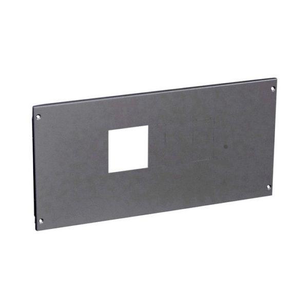 Металлическая лицевая панель XL³ 800//4000 - для 1 DPX 630 с УЗО или без него гориз. монтаж - в. 300