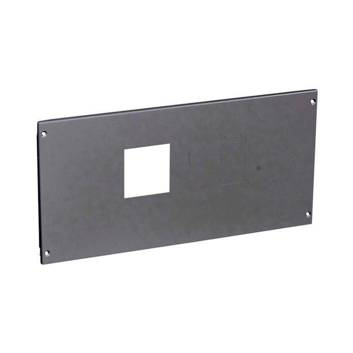 Металлическая лицевая панель XL³ 800//4000 – для 1 DPX 630 с УЗО или без него гориз. монтаж – в