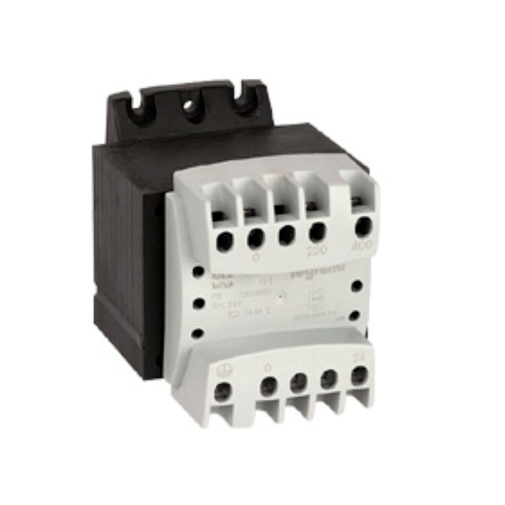 Однофазный трансформатор обеспечения безопасности - первичная обмотка 230//400 В // вторичная обмотка