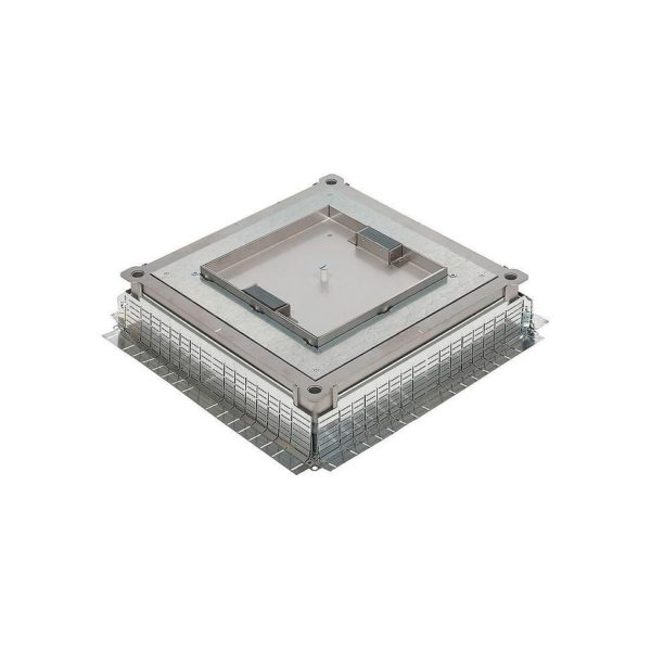 Монтажная коробка металлическая - универсальная - для напольных коробок