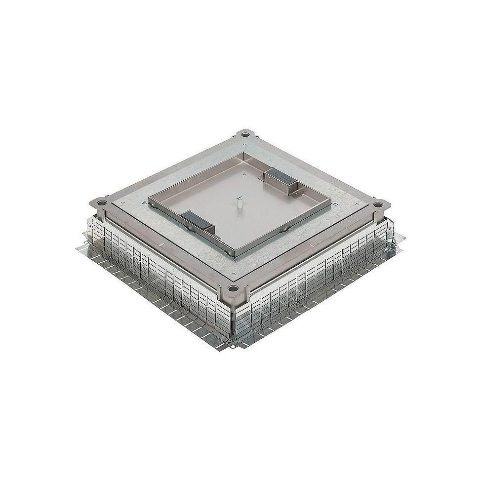 Монтажная коробка металлическая – универсальная – для напольных коробок 1