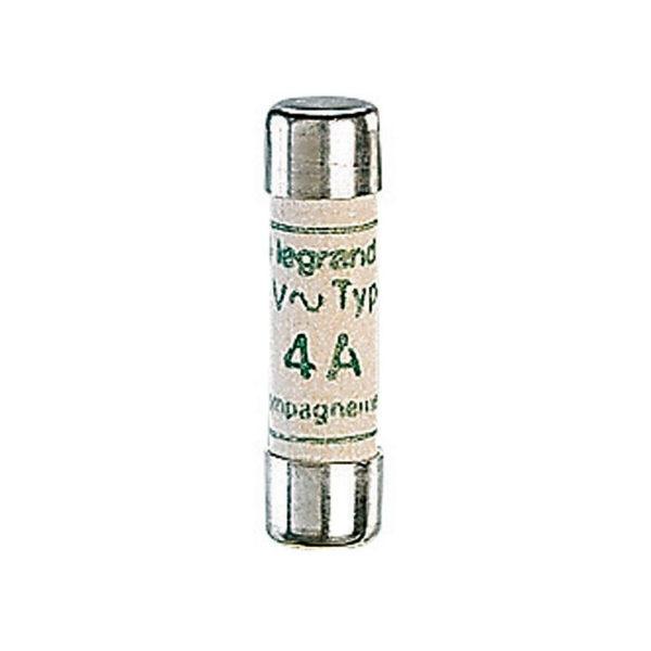 Промышленный цилиндрический предохранитель аМ 8.5х31.5 4А без индикатора