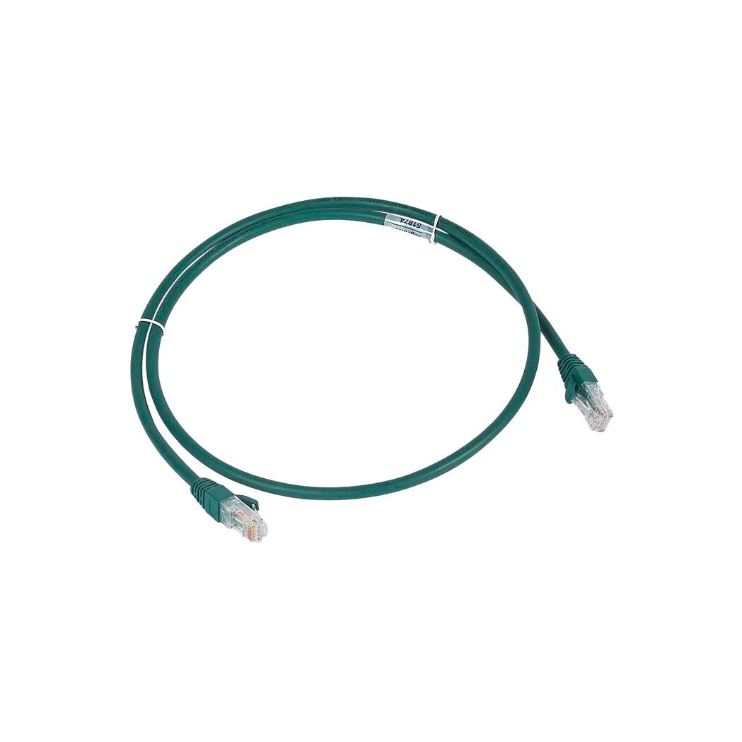 Шнур коммутационный RJ 45 - категория 6a - U//UTP - LSZH - неэкранированный - 2 м - зеленый