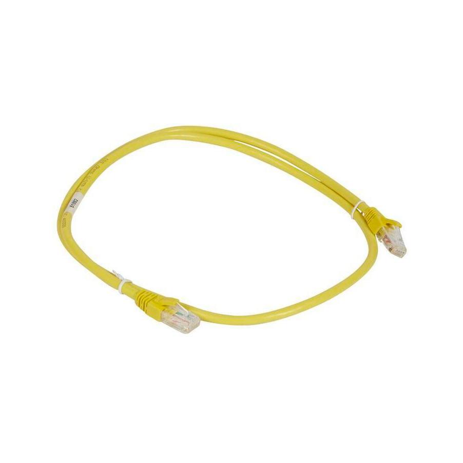 Шнур коммутационный RJ 45 - категория 6a - U//UTP - PVC - неэкранированный - 2 м - желтый