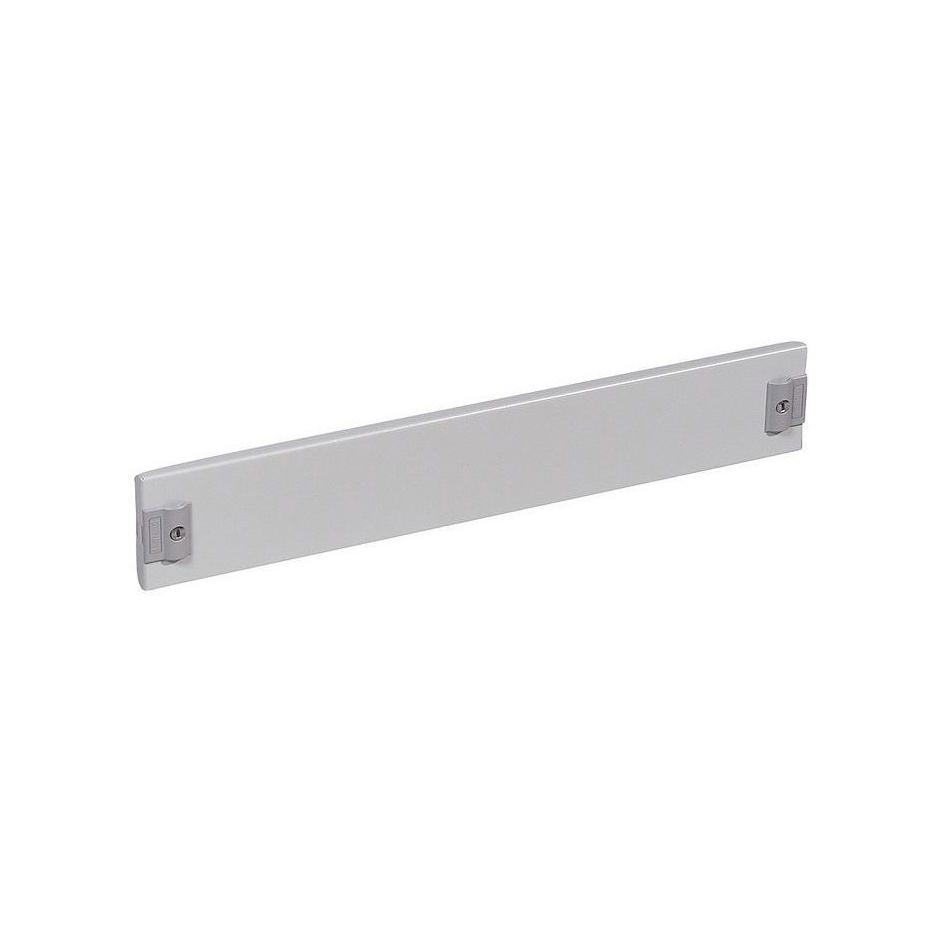 Сплошная металлическая лицевая панель с замком на 1//4 оборота XL³ 800//4000 - высота 100 мм - 24 моду