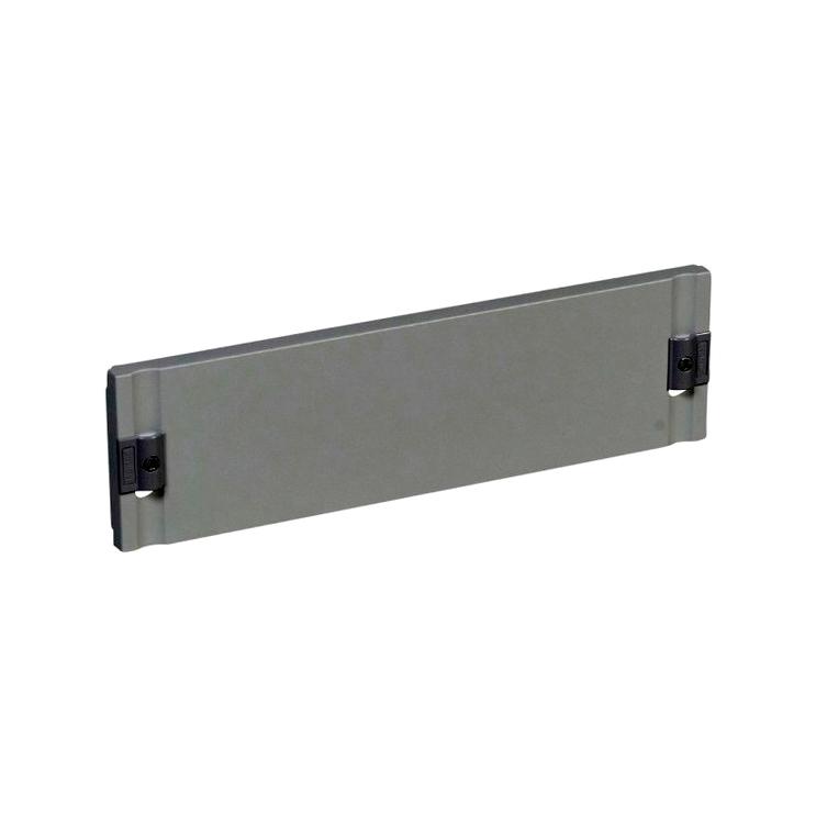 Сплошная лицевая панель металлическая XL³ 400 - для шкафов и щитов - высота 200 мм