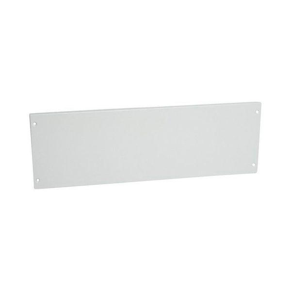 Сплошная металлическая лицевая панель на винтах XL³ 800//4000 - высота 200 мм - 24 модуля
