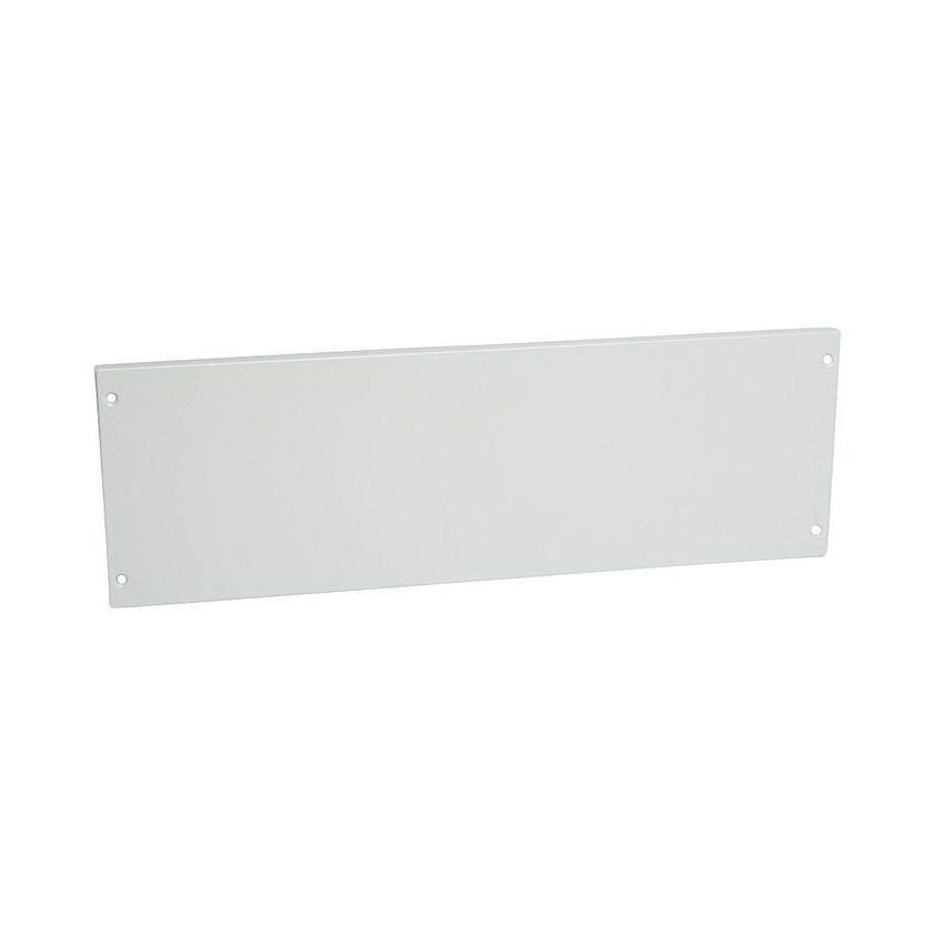 Сплошная металлическая лицевая панель на винтах XL³ 800//4000 – высота 200 мм – 24 модуля 1