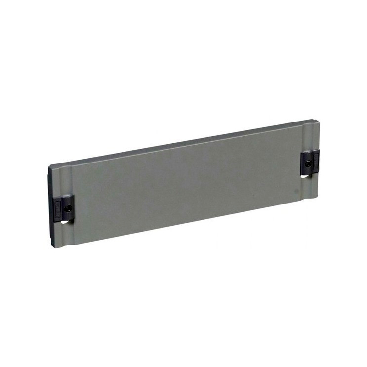 Сплошная лицевая панель металлическая XL³ 400 - для шкафов и щитов - высота 150 мм