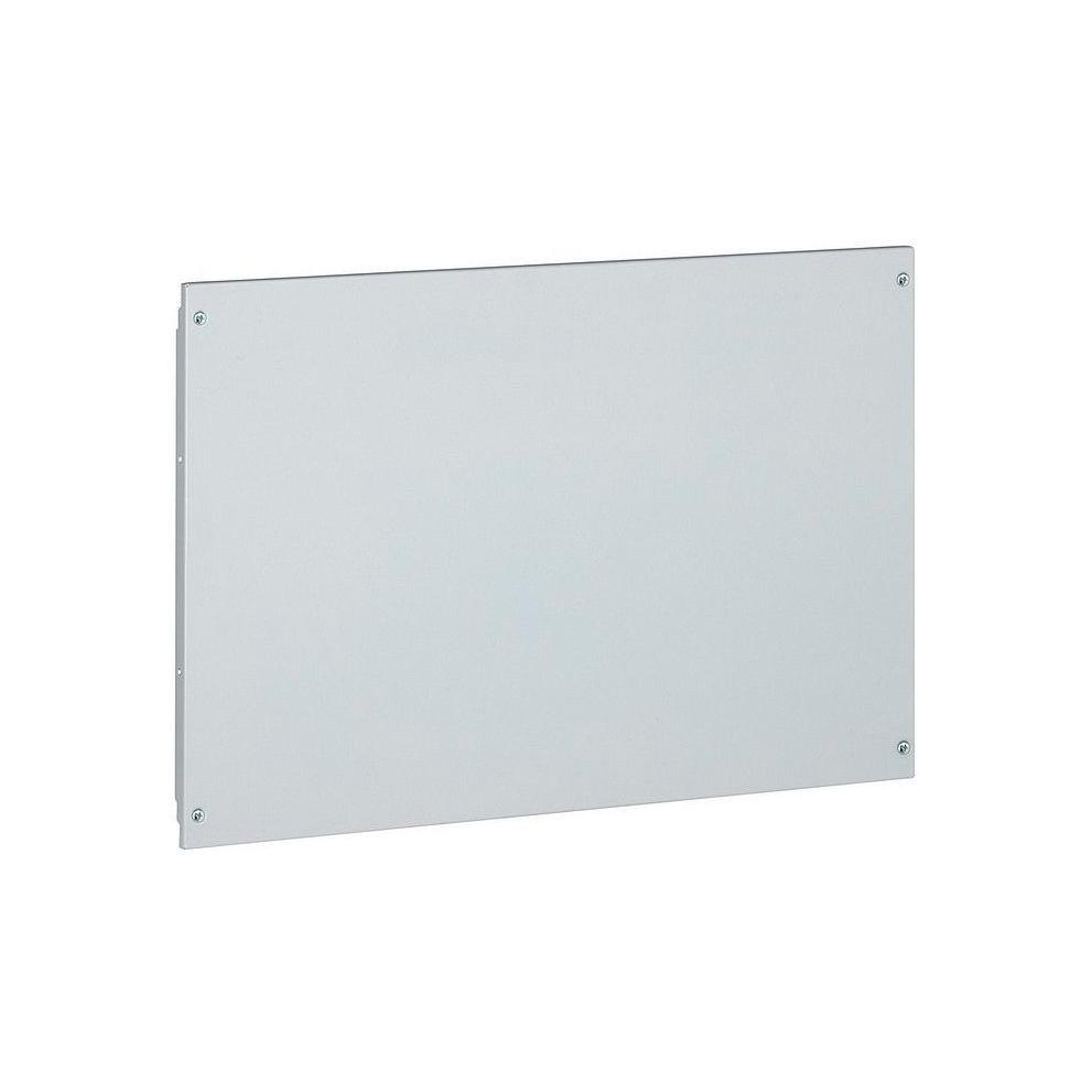 Сплошная металлическая лицевая панель на винтах XL³ 800//4000 - высота 100 мм - 24 модуля