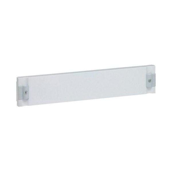 Сплошная лицевая панель изолирующая XL³ 160//400 - для шкафов и щитов - высота 100 мм