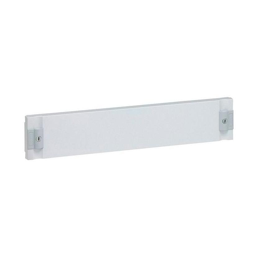 Сплошная лицевая панель изолирующая XL³ 160//400 – для шкафов и щитов – высота 100 мм 1