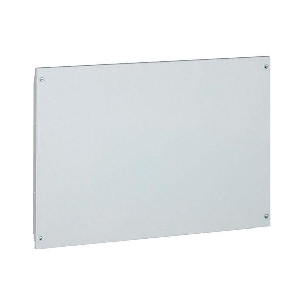 Сплошная металлическая лицевая панель на винтах XL³ 800//4000 - высота 400 мм - 24 модуля