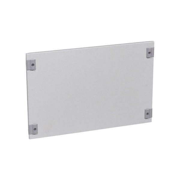 Сплошная металлическая лицевая панель с замком на 1//4 оборота XL³ 800//4000 - высота 400 мм - 24 моду