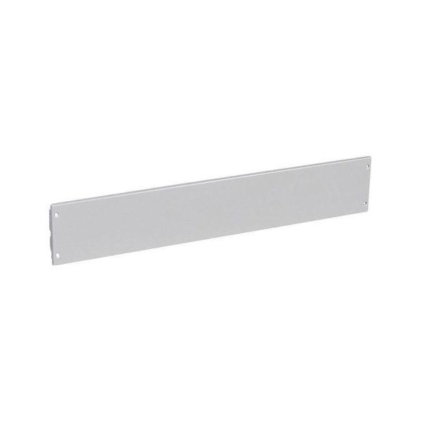 Сплошная металлическая лицевая панель на нетеряемых винтах XL³ 800//4000 - высота 150 мм - 36 модулей