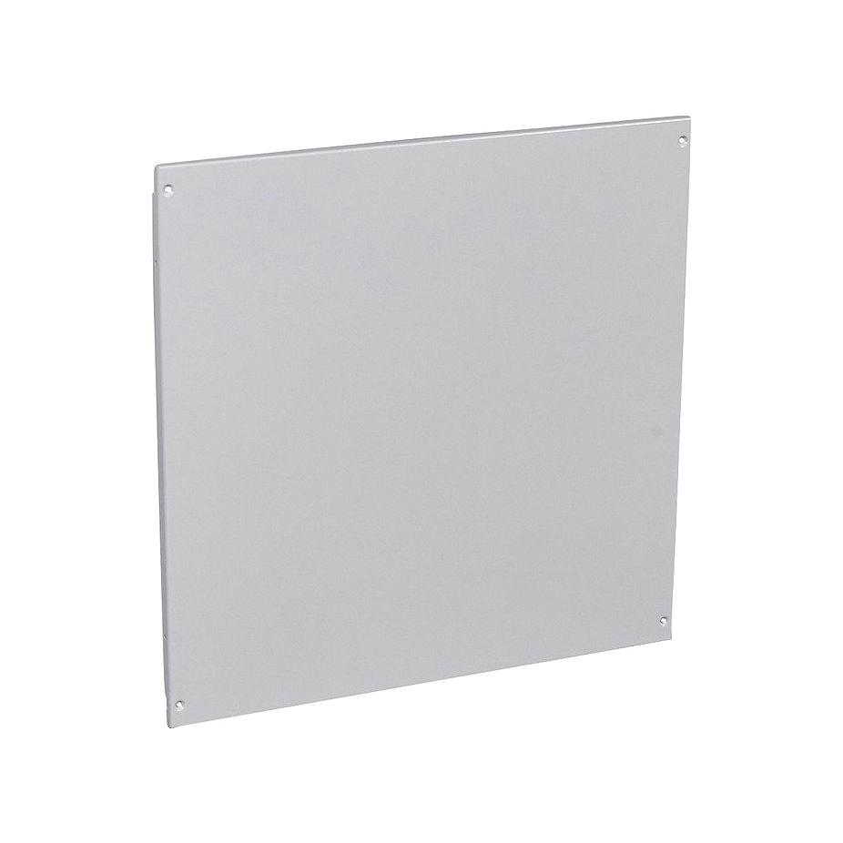 Сплошная металлическая лицевая панель на винтах XL³ 800//4000 - высота 600 мм - 24 модуля