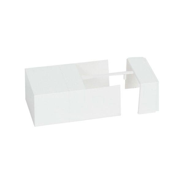 Торцевая заглушка//внутренний или внешний угол//накладка на стык - для мини-каналов Metra - 60x40