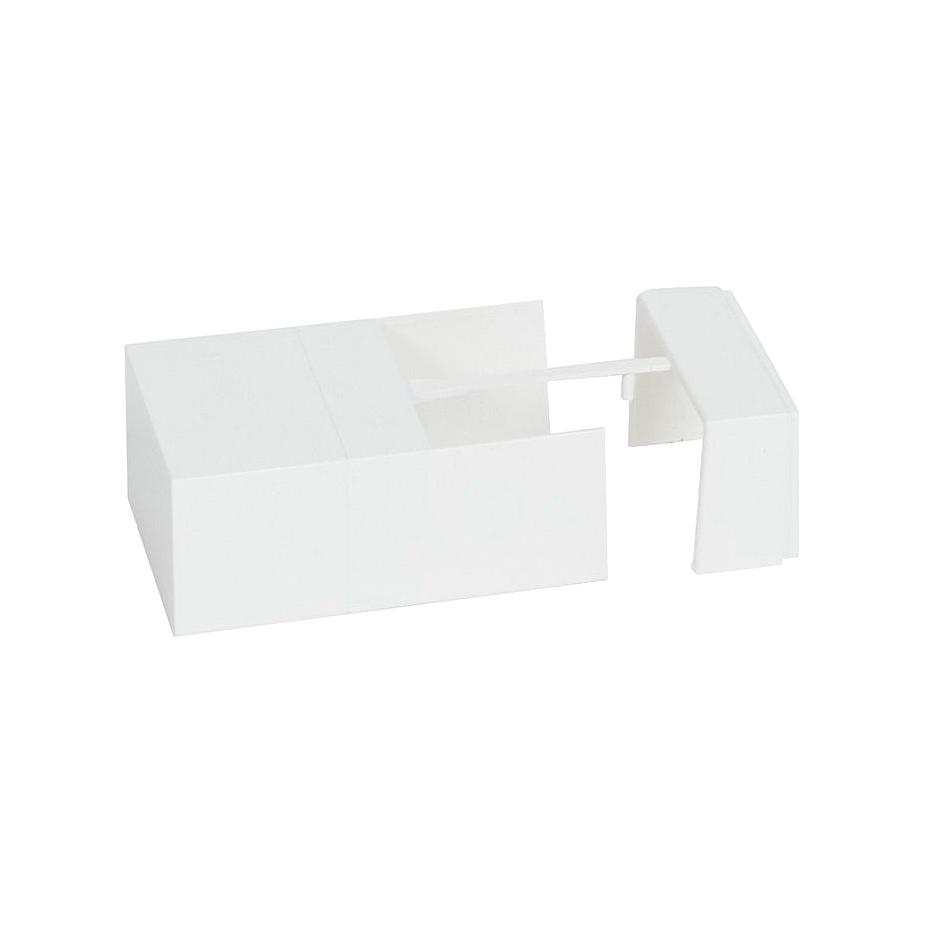 Торцевая заглушка//внутренний или внешний угол//накладка на стык – для мини-каналов Metra – 60×40 1